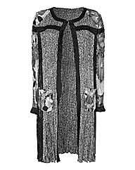 Chesca Crinkle Long Jacket