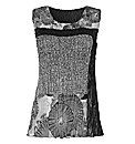 Chesca Crinkle Vest Top