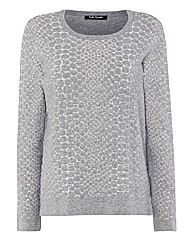 Betty Barclay Jacquard Quilted Jumper