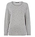 Betty Barclay Soft-knit Stud Jumper