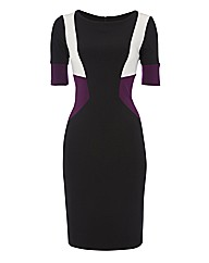 Joseph Ribkoff Colourblock Dress