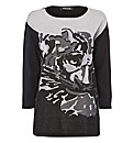 Betty Barclay Great Cat Cotton Jumper