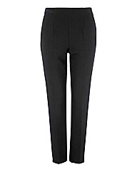Oui Taper-leg Crepe Trousers