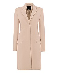 Oui Wool-rich Pastel Coat
