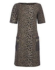 Apanage Animal-print Dress
