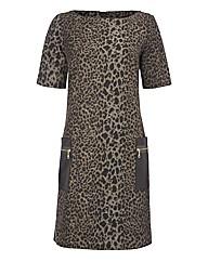 Apanage Animal-print Dress