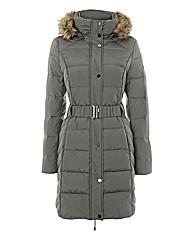 Esprit Belted Puffer Coat