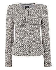 Oui Ultrasoft Chunky Tweed Jacket