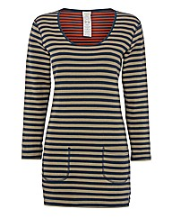 Seasalt Reversible Stripe Jersey Tunic