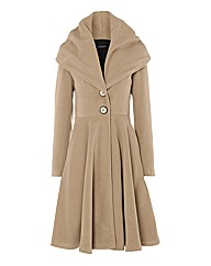 James Lakeland Fit & Flare Coat