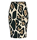 James Lakeland Animal-print Pencil Skirt