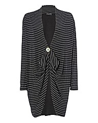 James Lakeland Drape-front Cardigan