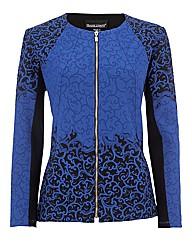 Frank Lyman Jacquard Jersey Jacket