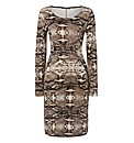 Betty Barclay Reptile Jersey Dress