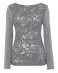 Monari Cornelli-trim Fine-knit Jumper