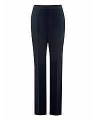 Apanage Crepe Straight-leg Trouser