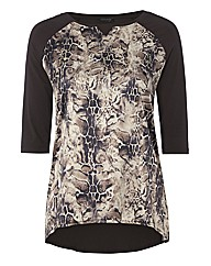 Apanage Animal Silky-front Top