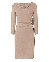 Apanage Shimmer-knit Dress