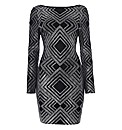 Bernshaw Geometric Sheath Dress