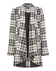 NYDJ Wool-blend Check Jacket