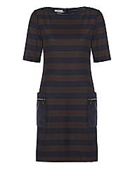 Apanage Stripe Shift Dress