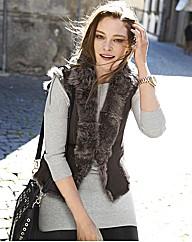 Esprit Zip-trim Sweater Dress