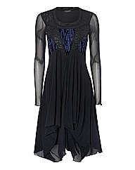 James Lakeland Multi-panel Mesh Dress