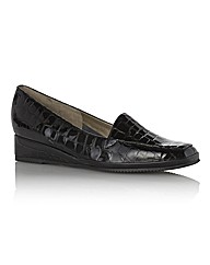 Van Dal Mock Croc Loafers