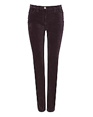 Michele Magic Velvet Trousers 30in