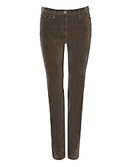 Michele Magic Velvet Trousers 32in