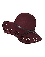 Helene Berman Felted Wool Hat