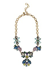 Oui Gem Statement Necklace
