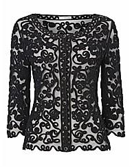 Gina Bacconi Illusion Jacket