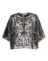 Gina Bacconi Sequinned Cape