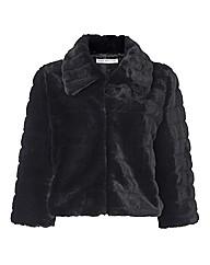 Gina Bacconi Faux Fur Jacket