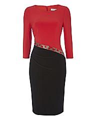Gina Bacconi Colourblock Dress