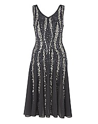 Gray & Osbourn Beaded Dress