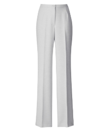 Linen Look Trousers Length 27in