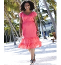 Tiered Ruffle Hem Dress