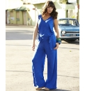 Relaxed V-neck Jumpsuit
