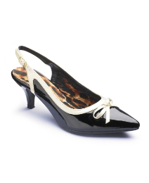 Viva La Diva Slingback Court Shoes EEE