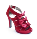 Isabella Cole Bow Platform Shoes E Fit