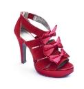 Isabella Cole Bow Platform Shoes E Fit