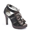 Isabella Cole Bow Platform Shoes EEE Fit