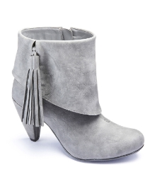 Heavenly Soles Tassel Ankle Boots E Fit