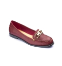 Viva La Diva Snaffle Trim Loafers D Fit