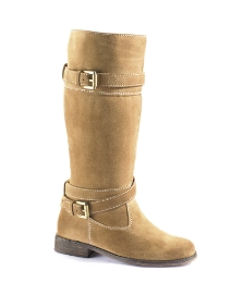 Legroom Suede Riding Boots E Fit