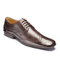 Jacamo Lace Up Brogue Shoes
