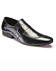 Hamnett Gold Slip On Shoes
