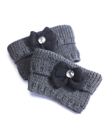 Viva La Diva Knitted Boot Toppers